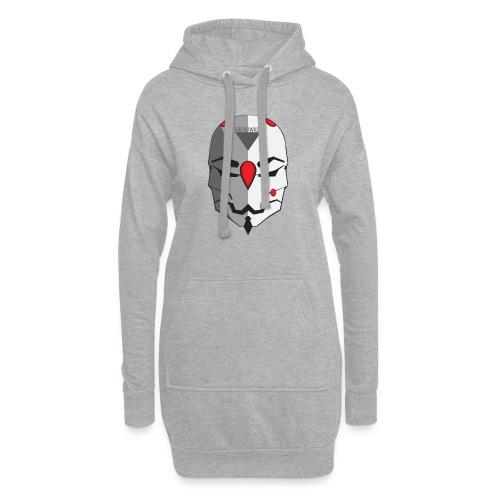 Greyfawkes logo colored - Hoodie Dress