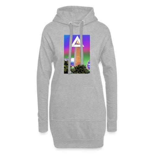 SIXTH DIEMENSION MONUMENT - Hoodie Dress