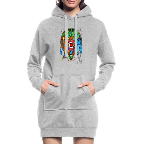 Vertrauen - Hoodie-Kleid