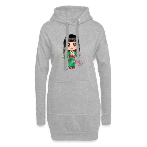 Rosalys crossing - Sweat-shirt à capuche long Femme