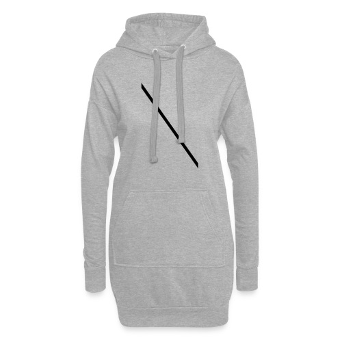 Minimale-Diagonale - Hoodie Dress