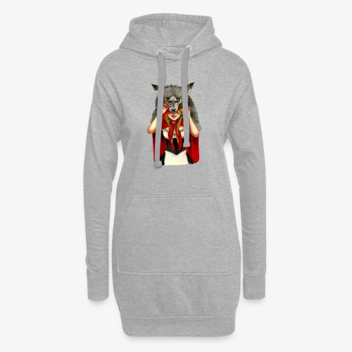 Little Red Riding Hood - Sudadera vestido con capucha