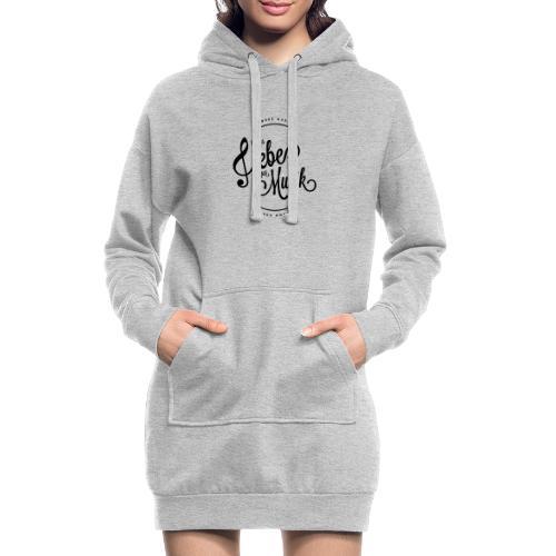 Aus liebe zur Musik - Hoodie-Kleid