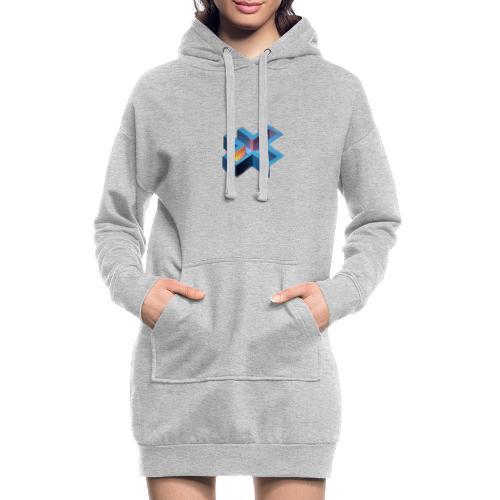 frise 01 - Sweat-shirt à capuche long Femme