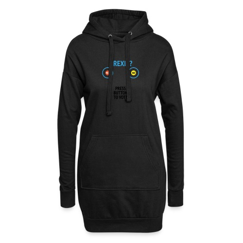 Brexit: Press Button To Vote - Hoodie-kjole