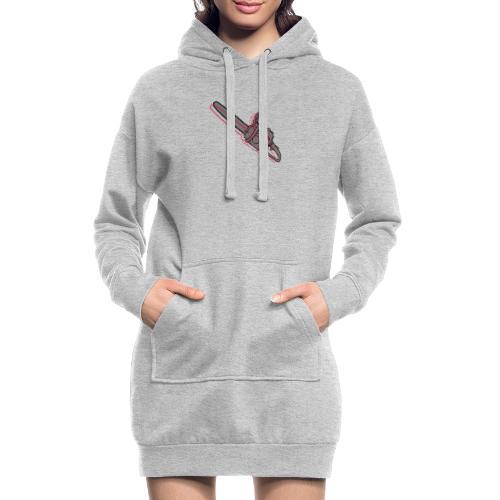 Kettensäge - Hoodie-Kleid