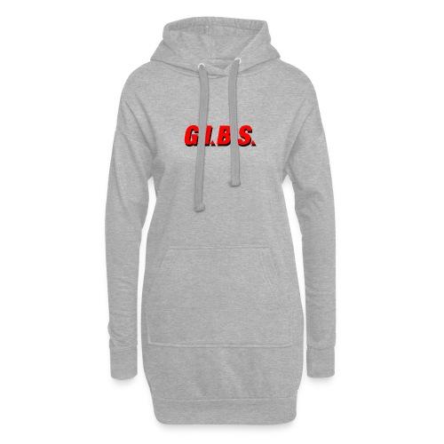 Logo Gibs - Sweat-shirt à capuche long Femme