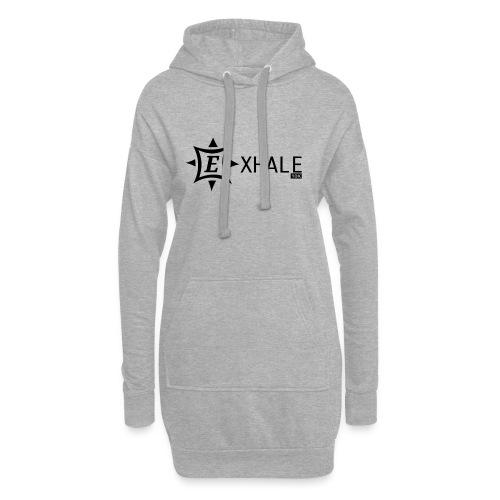 Exhale 10K White - Hoodie Dress
