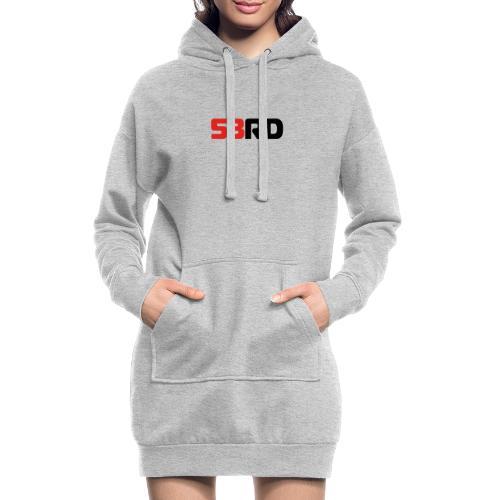 53RD Logo lang (schwarz-rot) - Hoodie-Kleid