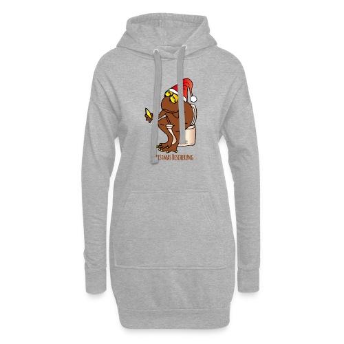 Christmas Bescherung - Hoodie-Kleid