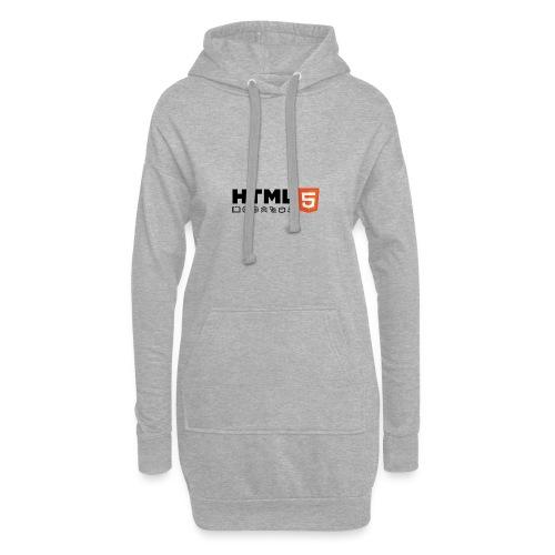 Html 5 - Sweat-shirt à capuche long Femme
