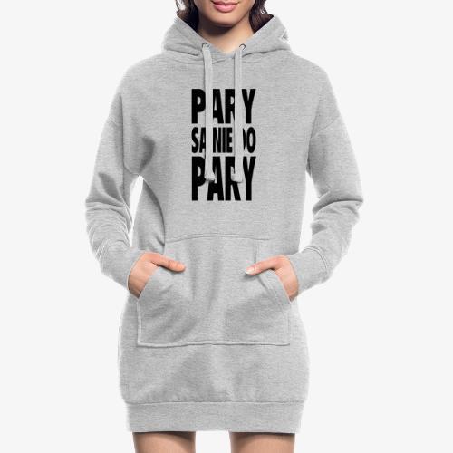 Pary są nie do pary - Długa bluza z kapturem