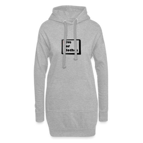Simpler Design - Hoodie Dress