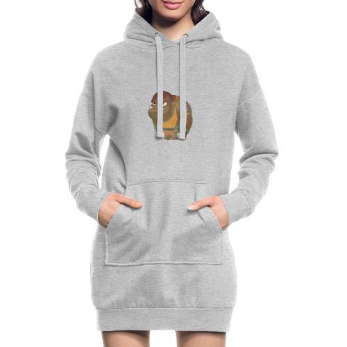 Brabucon00001 - Sudadera vestido con capucha