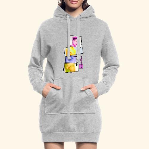 Untitled 3 explose - Sweat-shirt à capuche long Femme