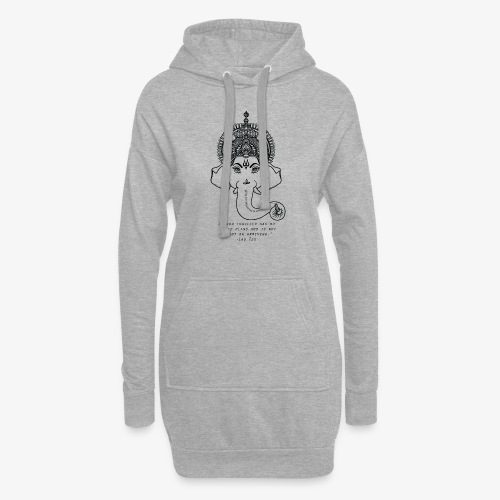 Travel quote 4 - Hoodie Dress