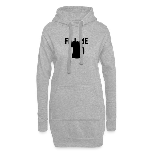 fill me with beer - Sweat-shirt à capuche long Femme