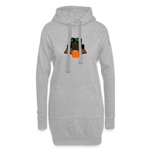 The small coder - Hoodie Dress