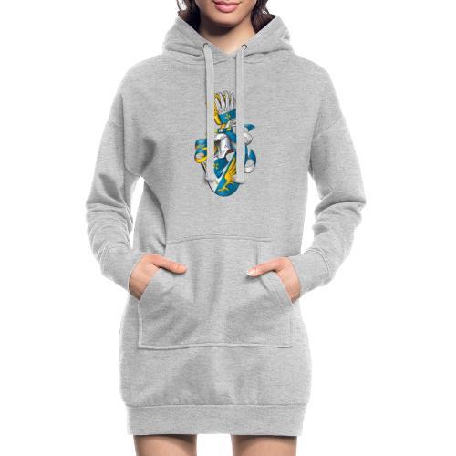Fahning - Hoodie-Kleid