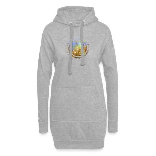 Opal Spirale - Hoodie-Kleid