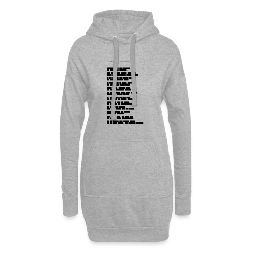 Zensur-Shirt | Jan Böhmermann: Schmähkritik - Hoodie-Kleid