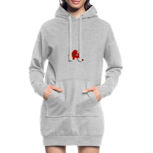 FitwayStyle 3 - Sudadera vestido con capucha