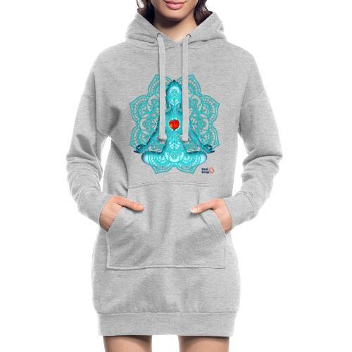Meditation Moment - Hoodie Dress