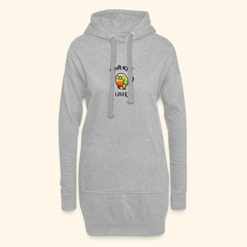 Conures' Lover: Ananas - Sweat-shirt à capuche long Femme