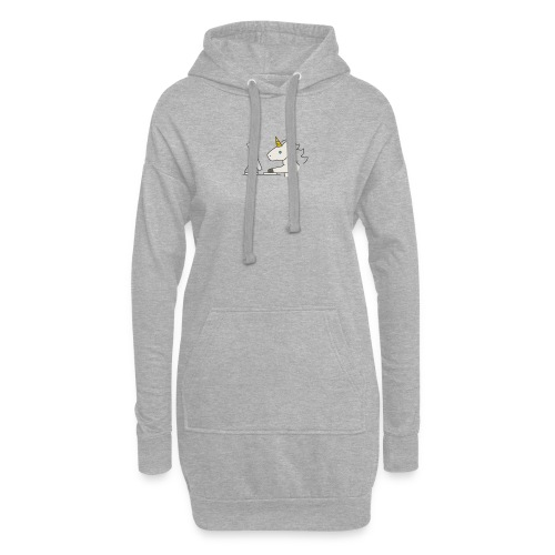 Unicorn Work - Hoodie Dress