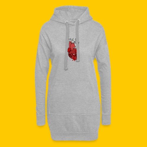 Hole.. Heart. - Hoodie Dress
