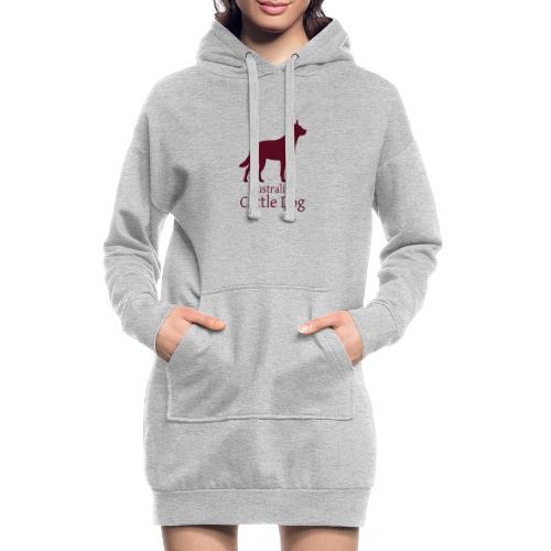 Australian Cattle Dog - Hoodie-Kleid