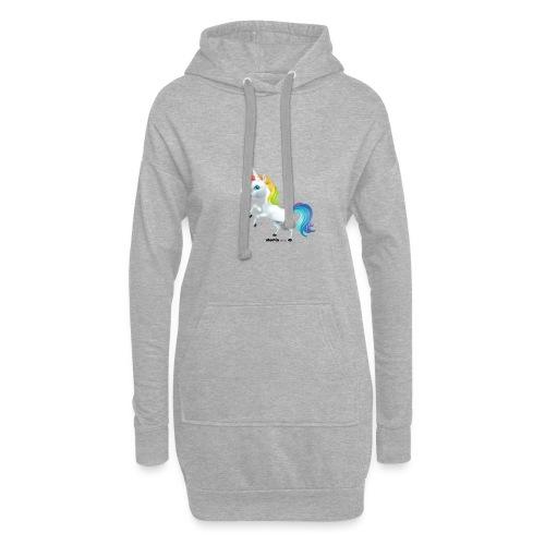 Regenboog eenhoorn - Hoodiejurk