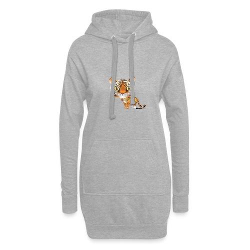 Tiger - Hoodie-Kleid