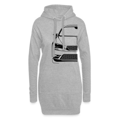 CAR-F-0101020-000-100-0 - Hoodie-Kleid