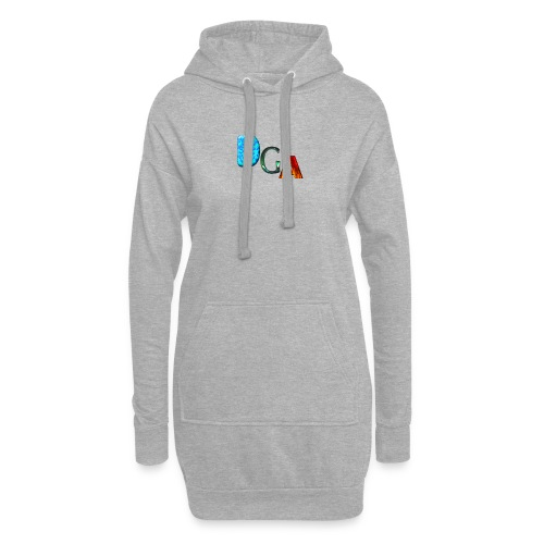 DGA - Sweat-shirt à capuche long Femme
