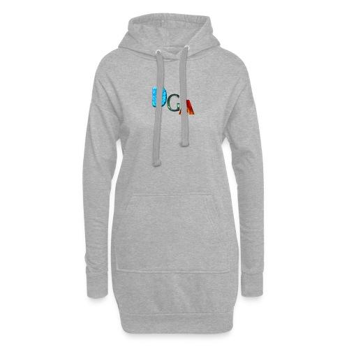 DGA - Sweat-shirt à capuche long Femme