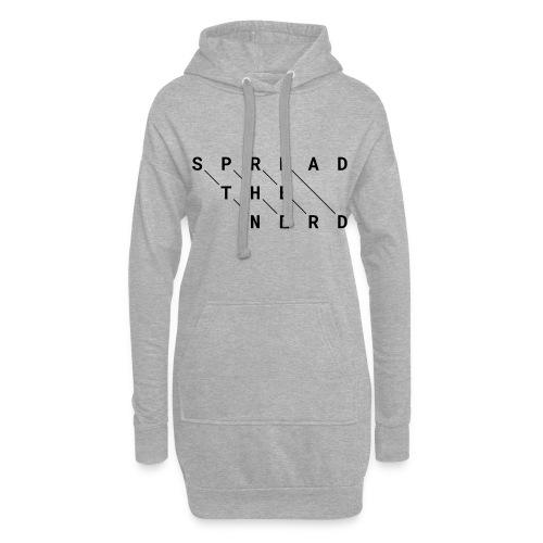 Spread the Nerd - Hoodie-Kleid