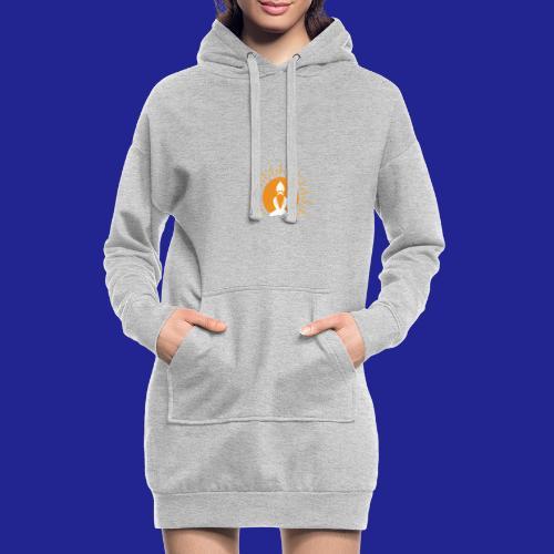 Guramylyfe logo white no text - Hoodie Dress