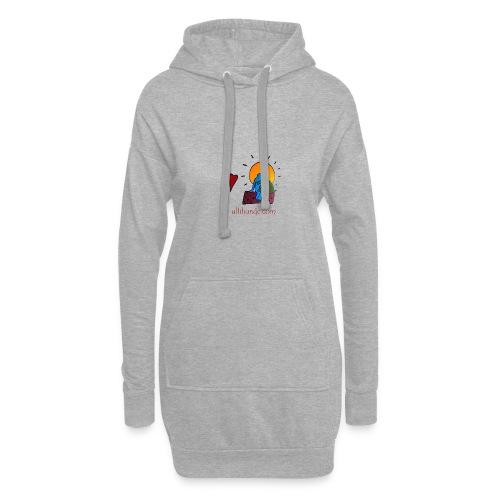 Ullihunde - Logo RETRO - Hoodie-Kleid
