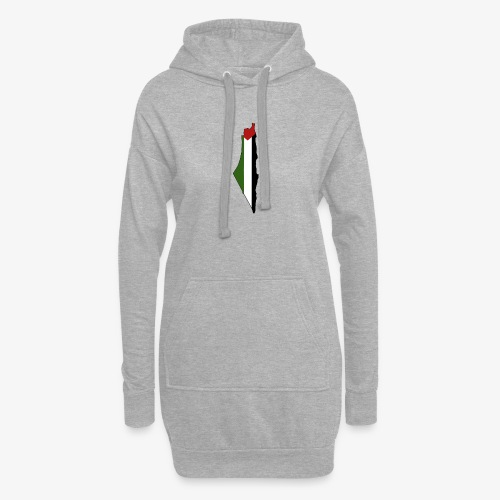 Palestine - Sweat-shirt à capuche long Femme