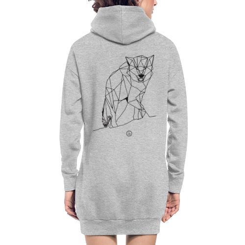 FENRIS - Geometrisk lineart - Hoodie-kjole