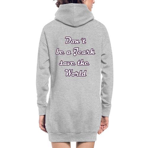 Save the World Jeark - Hoodie-Kleid