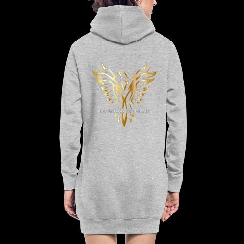 Golden Phoenix Design - Hoodie Dress