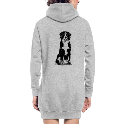 Berner Sennenhund Hunde Design Geschenkidee - Hoodie-Kleid