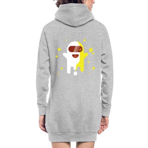 Fantôme astronaute - Sweat-shirt à capuche long Femme