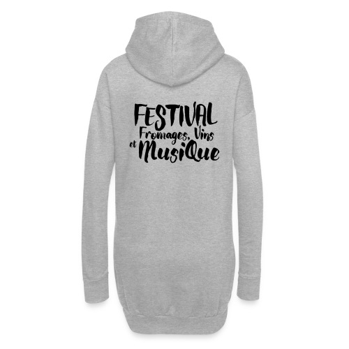 Festival FVM - Sweat-shirt à capuche long Femme