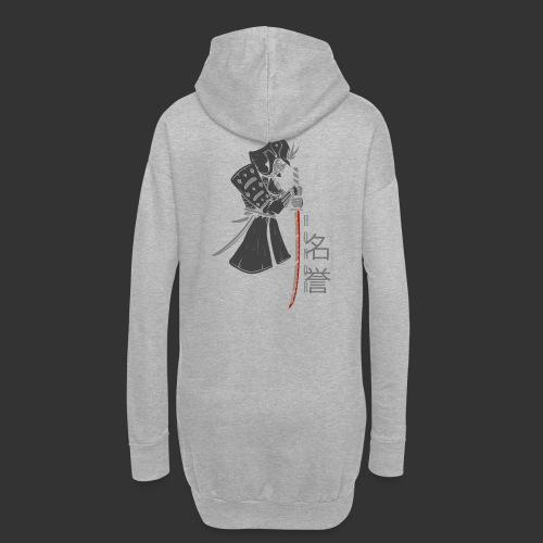 Samurai Digital Print - Hoodie Dress