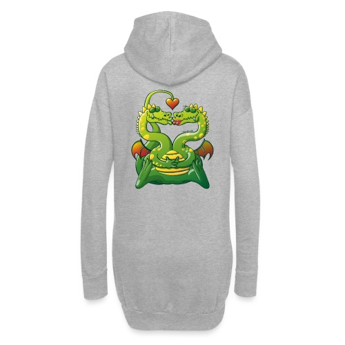 Dragons Madly in Love - Hoodie Dress