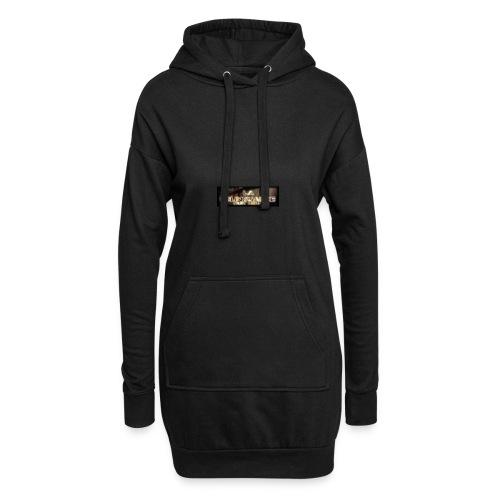 La Delinquance  Huit Zero  - Sweat-shirt à capuche long Femme