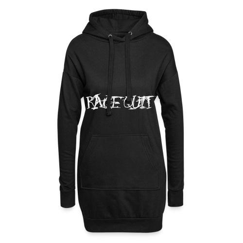 Rage Quit White Edition - Hoodie-Kleid